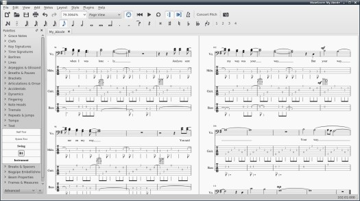 Guitar Tablature Editing on Linux – Alan Sanderson