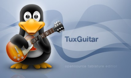 Tux Guitar splash